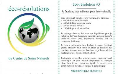 éco-résolution #3 – je fabrique mes tablettes pour lave-vaisselle